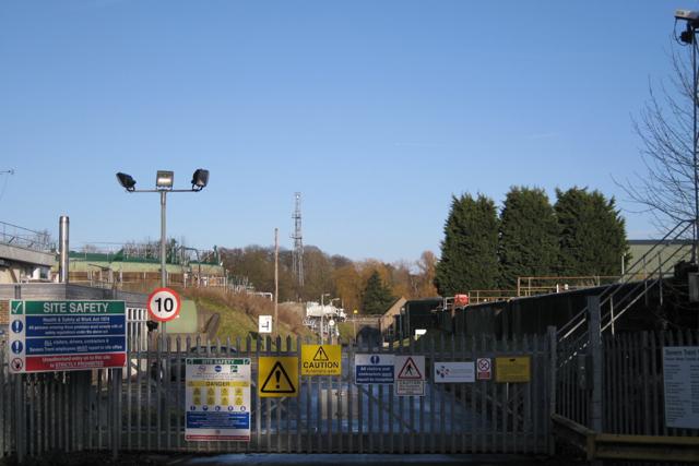 Gate 2, Finham sewage treatment works