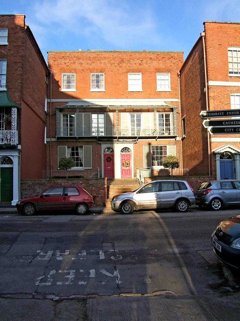 Old houses in Castle Street