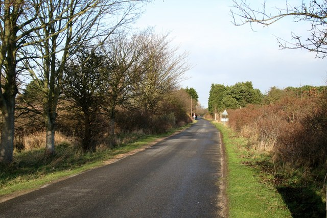 The road from Gibraltar Point