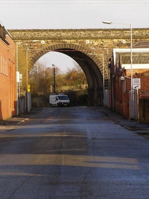 Railway arch, Milltown Street