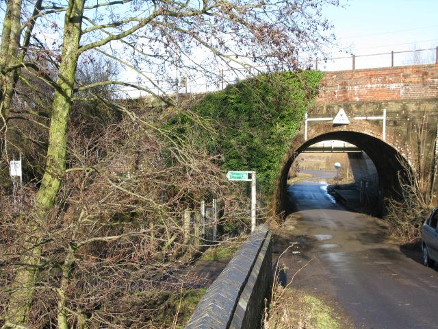 Railway bridges over Church Lane