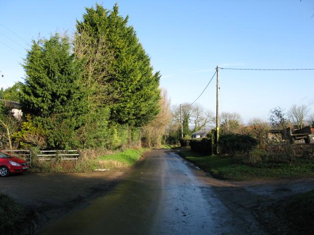 View along Church Lane