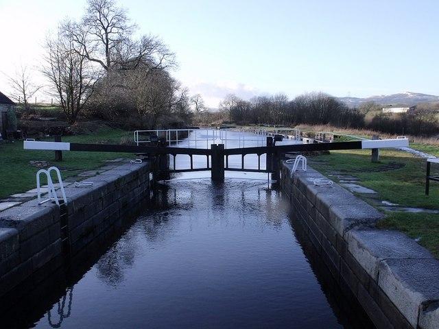 Forth & Clyde Canal, Wyndford Lock