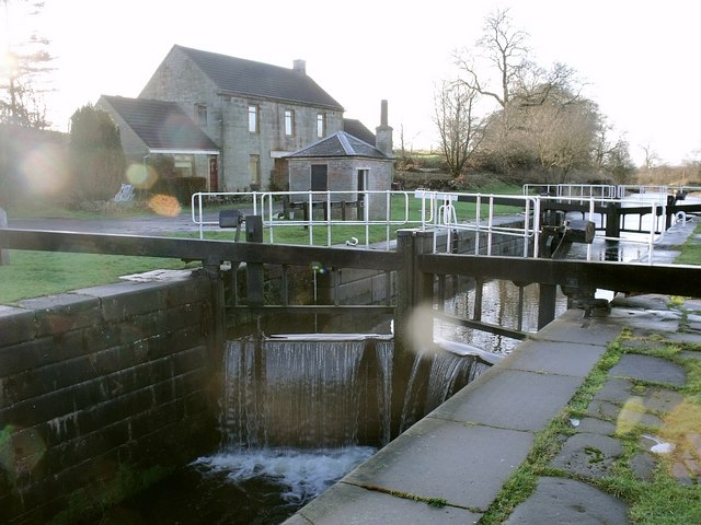 Forth & Clyde Canal, Wyndford Lock