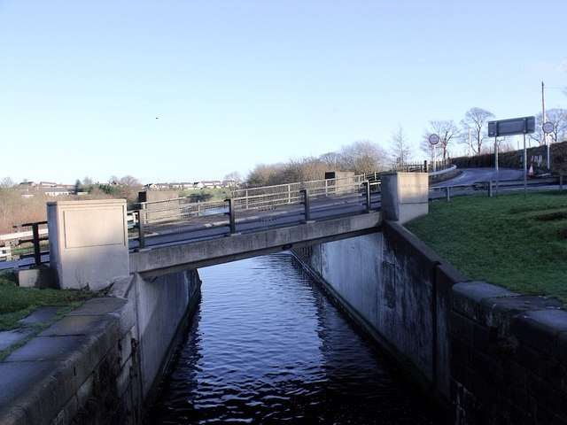 Millennium Bridge at Wyndford Lock