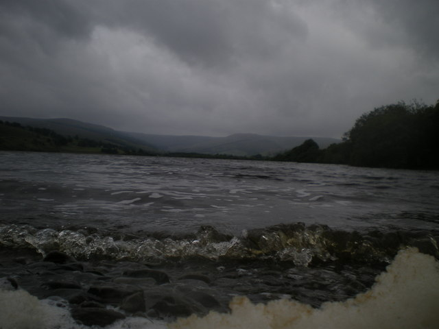 Dark storm gathering over Semer water
