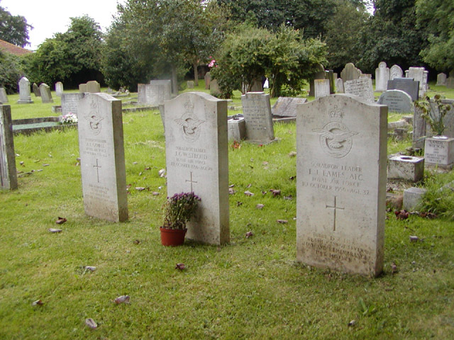 Vulcan crash graves