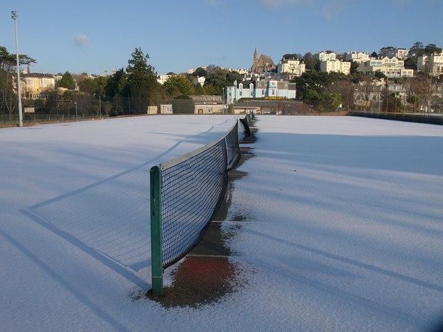 Tennis courts, Abbey Park