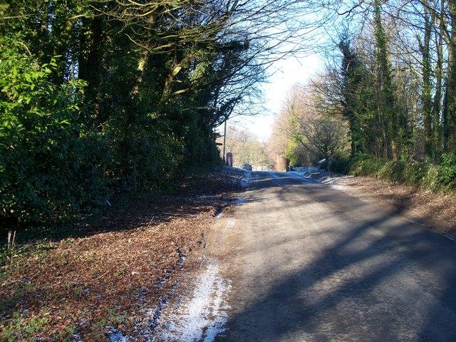 Road to Bourton