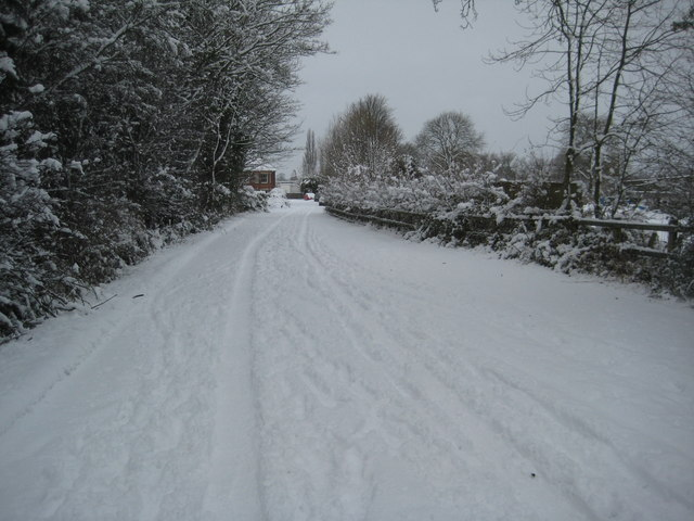 Old road into Upton-upon-Severn