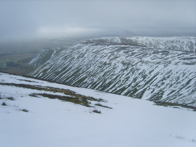 Descending Bowscale Fell