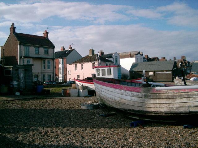 Aldeburgh fishing huts