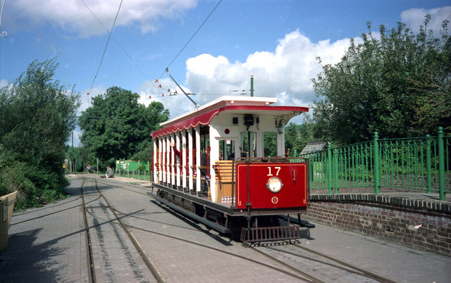 Tram at Colyton