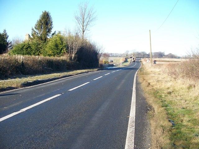 A424 near Longborough