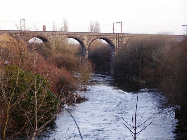 Irwell and viaduct