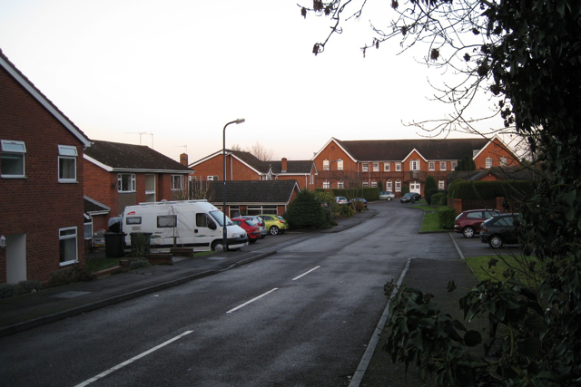Frythe Close off Knowle Hill, Kenilworth