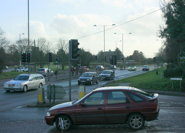 2010 : A350 at the junction with Corsham Road