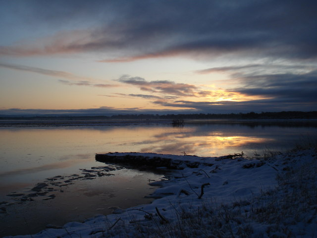 Midwinter at Findhorn Bay