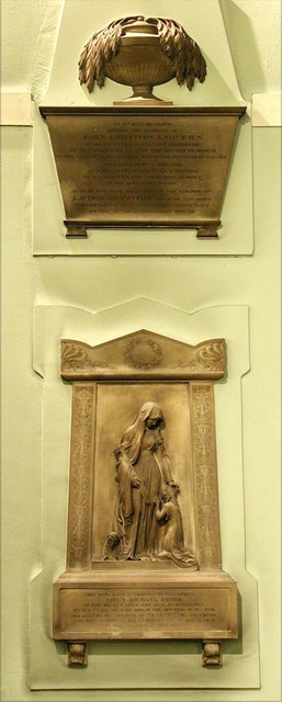Holy Trinity, Great Portland Street, London W1 - Wall monuments