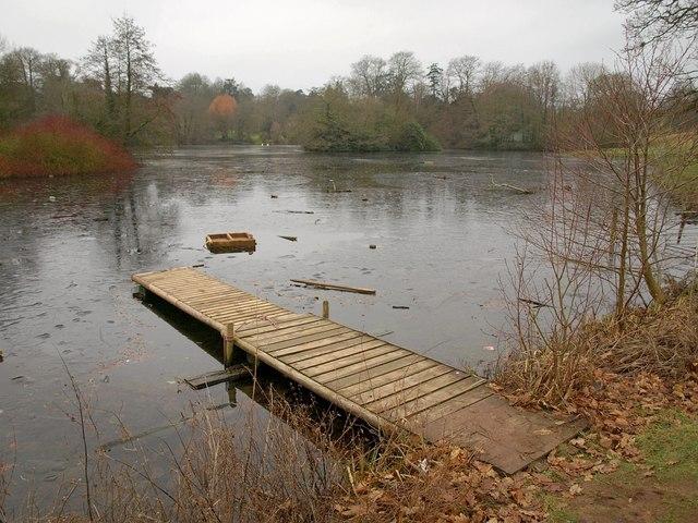 Lake at Bicton Park