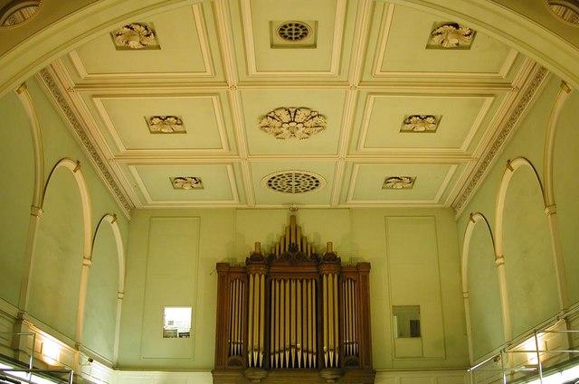 Holy Trinity, Great Portland Street, London W1 - Roof