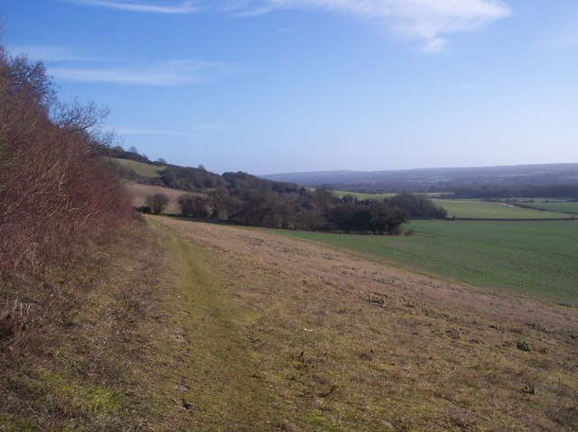 North Downs Way heading east (2)
