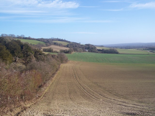 View from the North Downs Way - looking east (3)