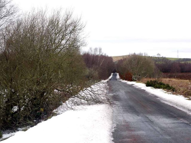 The road from Coalburn