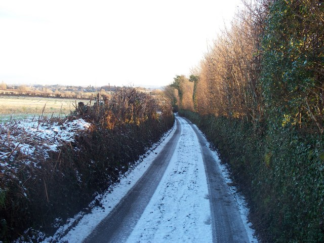 Lane from Radyr to Llantrisant Road