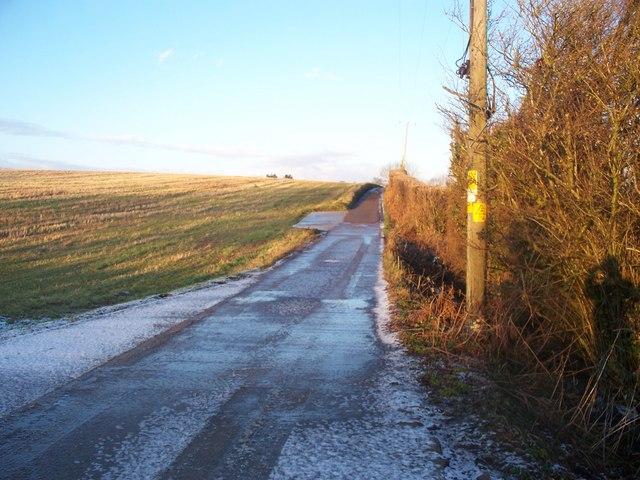 Bridleway between Llantrisant Road and Radyr