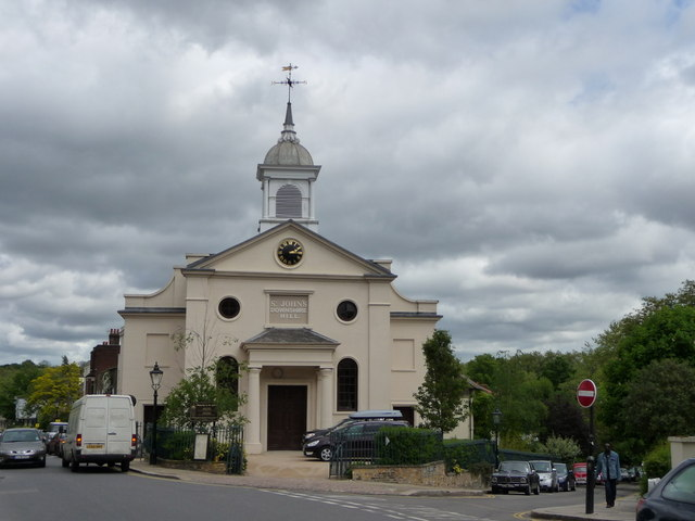 St John's Church, Downshire Hill, Hampstead, London NW3