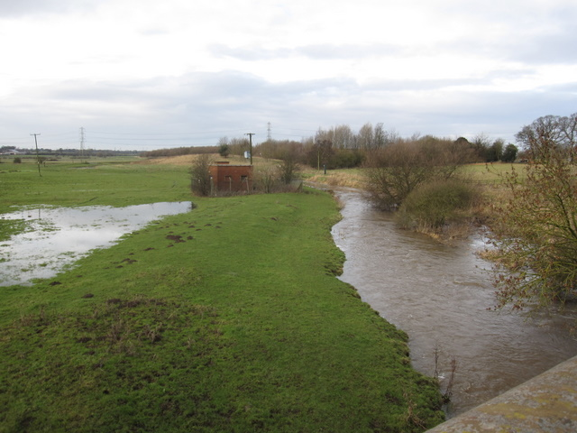 The River Gowy from Trafford Bridge