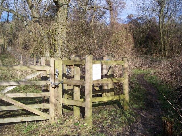 Kissing Gate near Tatsfield Court Farm