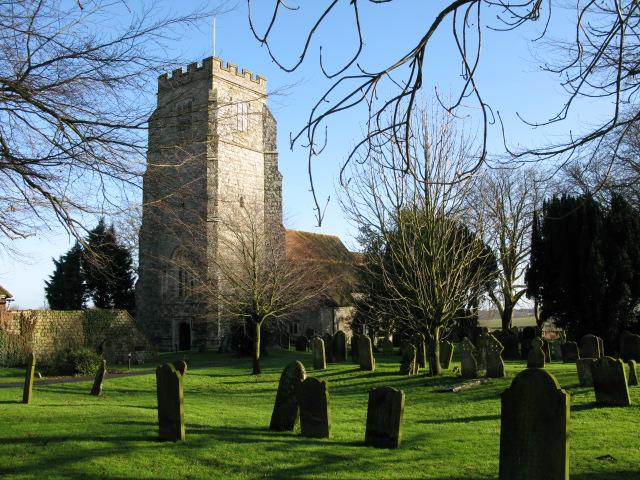 St Martin's church Aldington