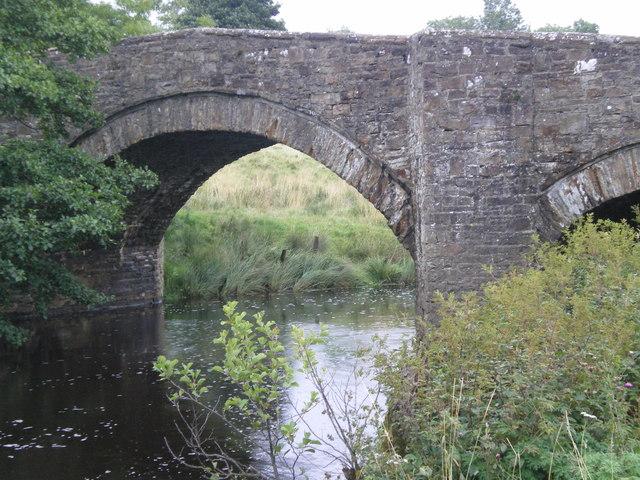 First bridge for the River Bain