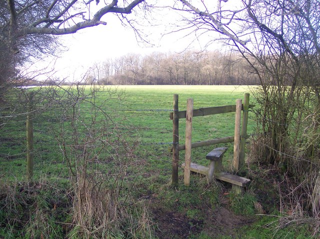 Stile near Wet Wood