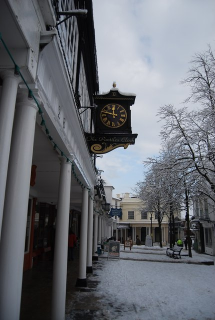 The Pantiles Clock