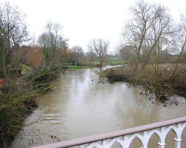 The River Avon, Hampton Lucy