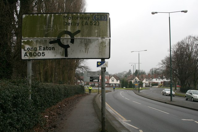 Very dirty road sign