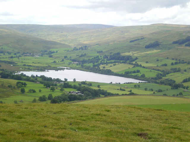 Semer Water from Addlebrough