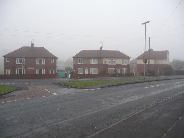 Junction of Queen Elizabeth Road and Watson Crescent