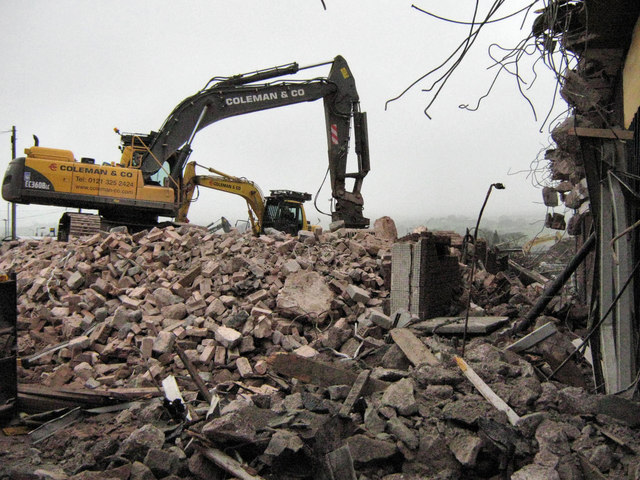 Removing the rubble (1)