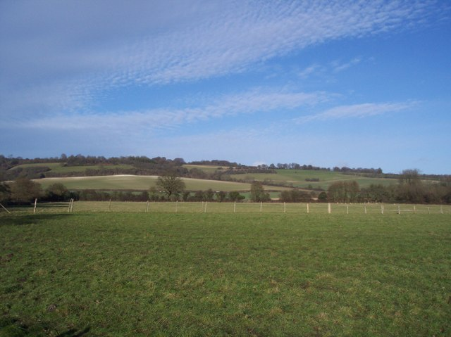 View of the North Downs