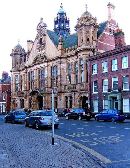 Town Hall, St. Owen's Street