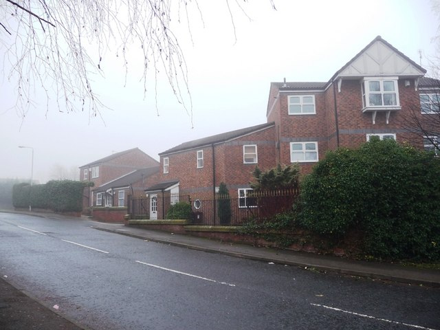 West side of Howden Way, near the junction with Park Lodge Lane