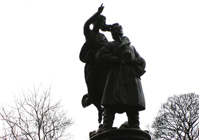 Albert Ball VC memorial