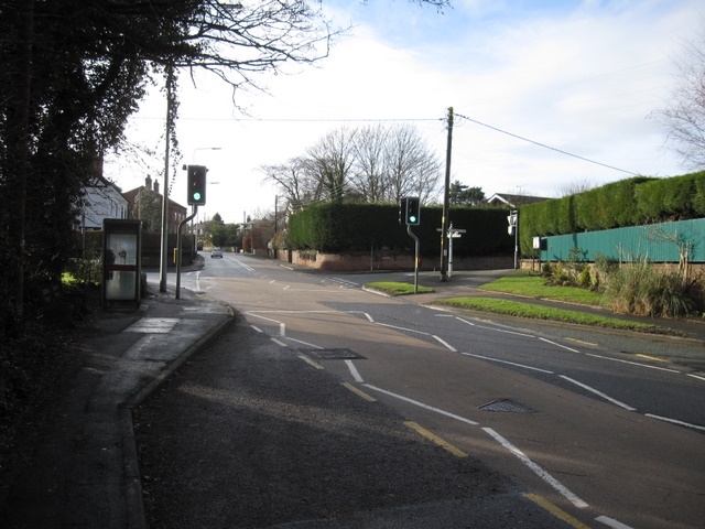 Crossroads in Mickle Trafford