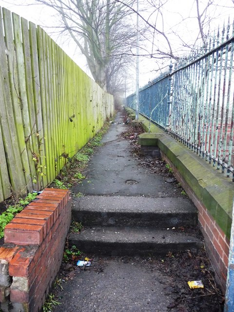 Old footpath, off Park Lodge Lane