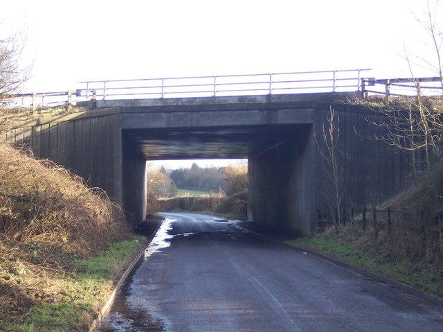 M25 Motorway Bridge over Hogtrough Hill