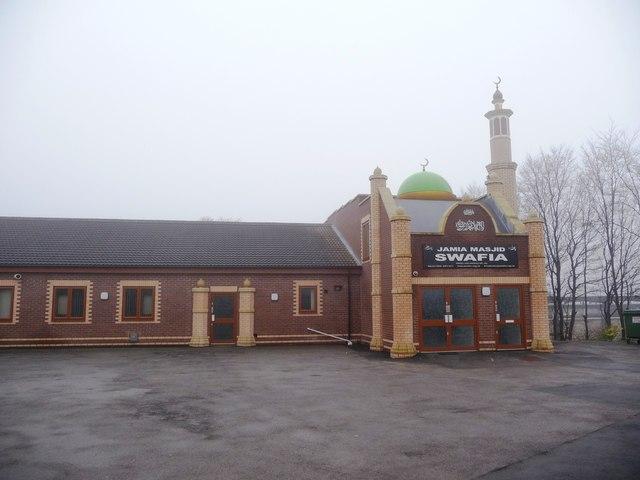 Entrance to Jamia Masjid Swafia, Park Hill Lane